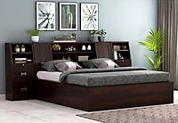 Wide range of hydraulic storage bed for your bedroom at Wooden Street
