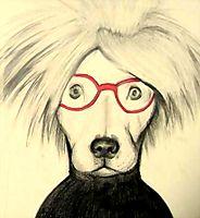 Dog Portrait By Andy Warhol Dog Art - The PHAG Shop