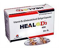 Heal D3   9453308133   Vitamin D3 Capsules