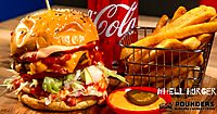Hell Burger - Pounders Burgers Wings & Fries