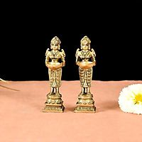 Antique Brass Statues For House Decor Items – Vedansh Craft