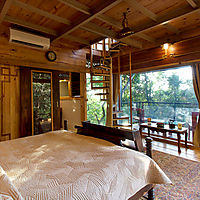 Luxurious stay at Machan resorts in Lonavala, nestled on the Forest floor